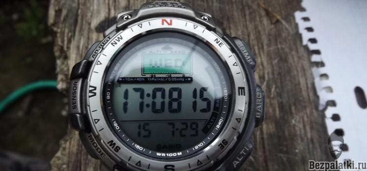 Обзор часов  Casio protrek PRG-40T-7V