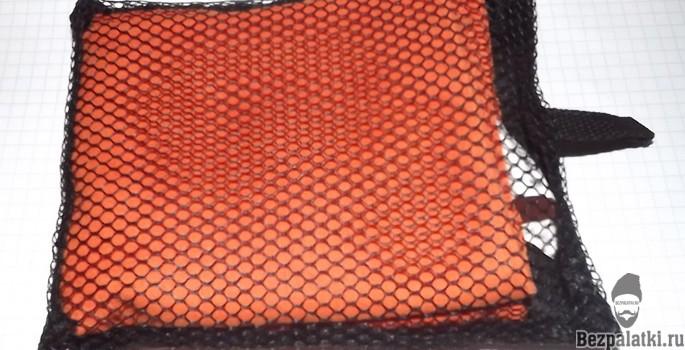 туристическое полотенце из микрофибры