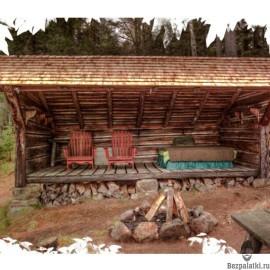 Что нужно знать при строительстве естественного укрытия