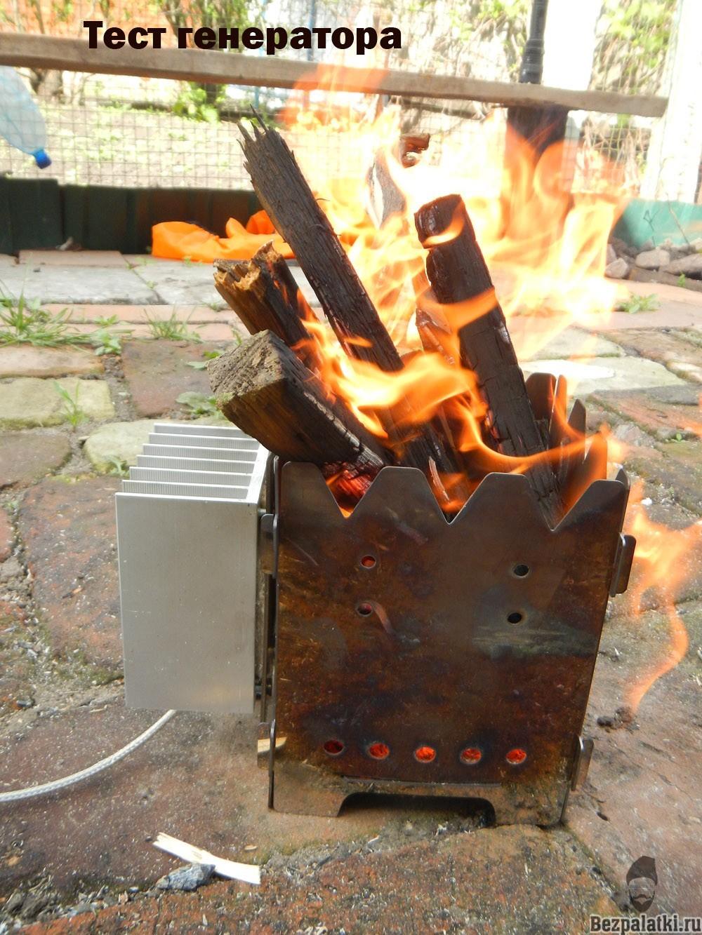 как работает печь генератор