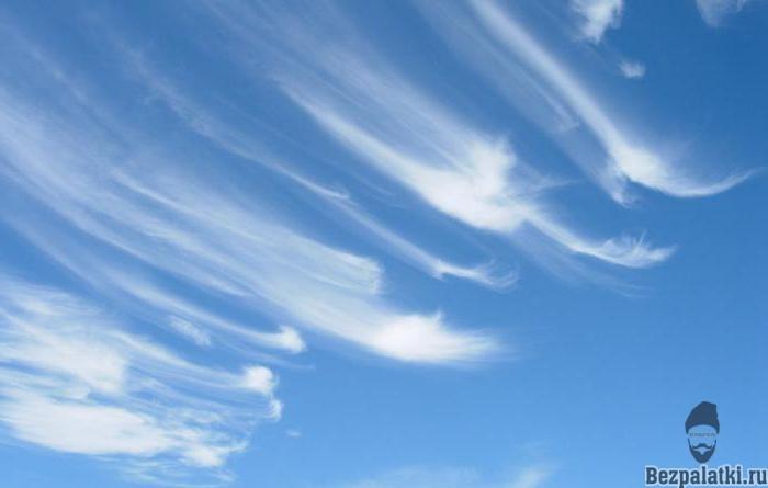 перестые облака приближение теплого фронта