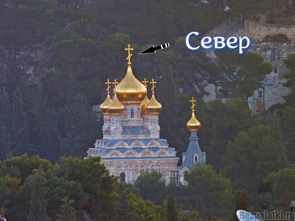расположение креста на храме