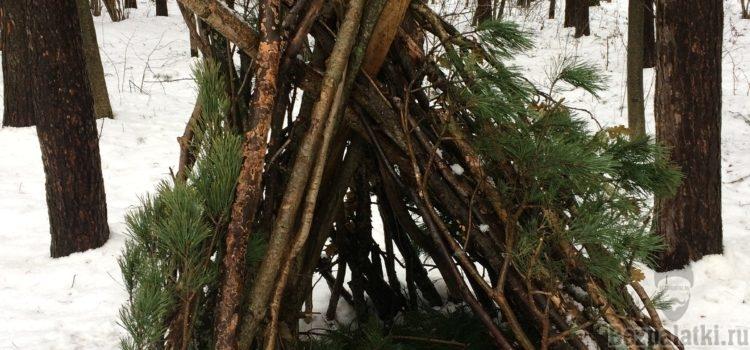 Как сделать шалаш: виды шалашей. Строим шалаш в лесу, зимой и летом.